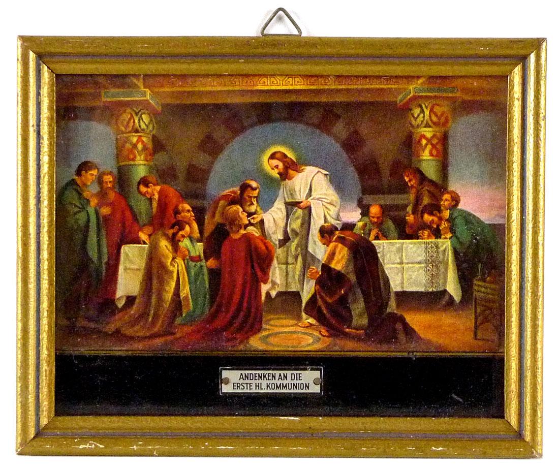 Bild einer Erwachsenenkommunion